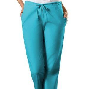 Cherokee Women's Turquoise Scrub Pants